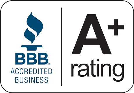 BBB Accredited Business A+ Rated